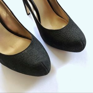 Steve Madden Shoes - Steve Madden black suede leather stiletto heels